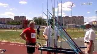 Чемпионат России по легкой атл среди ветеранов Саранск 2014