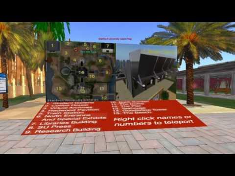 Stanford University Libraries in Second Life_longer.m4v