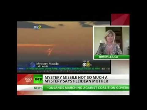 Pleiadeans Brought Down Missile Says Contactee