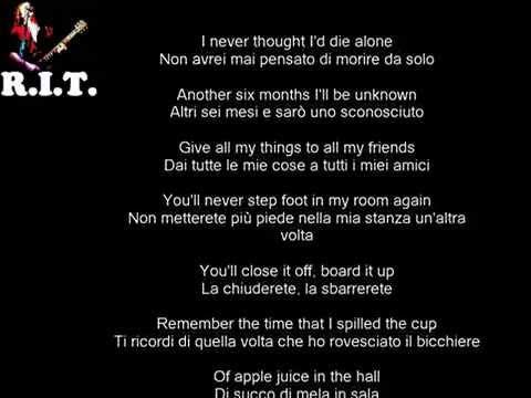 Adam's Song - Blink 182 con testo e traduzione