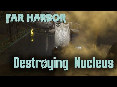 Fallout 4 - Far Harbor - Detonating Nuclear bomb in Nucleus |