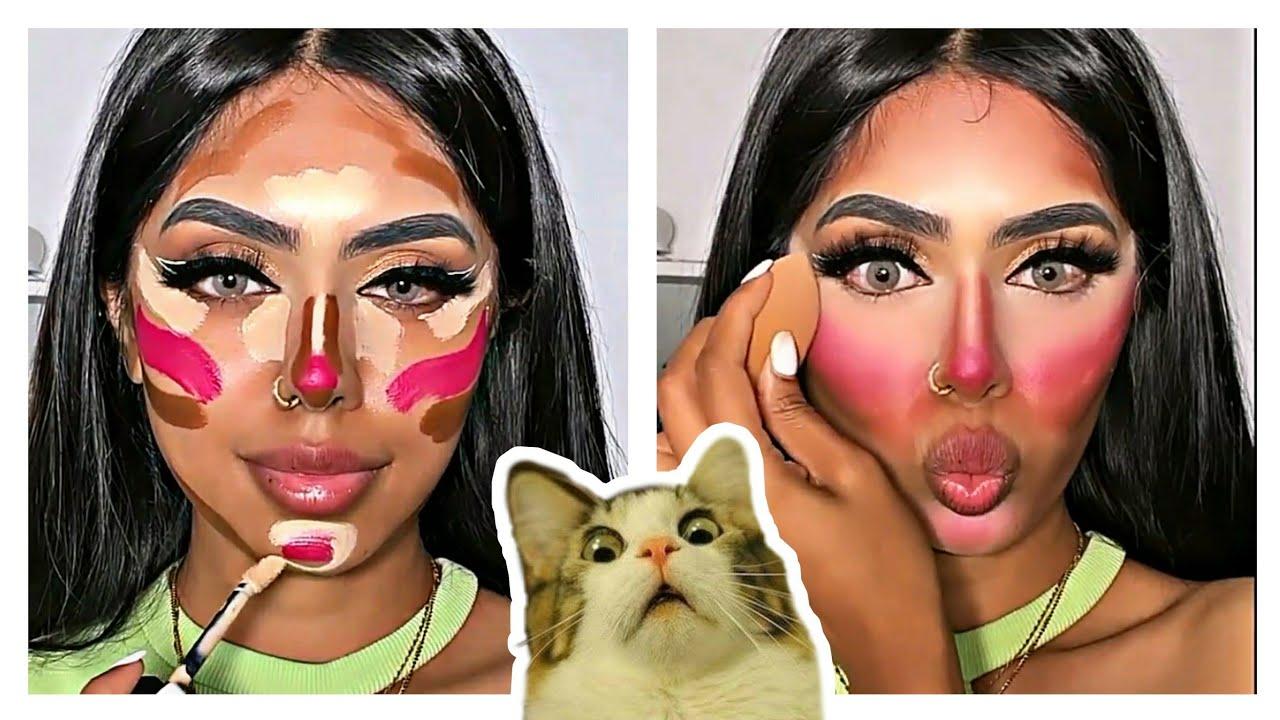Será que essa Maquiagem vai dar certo?😱 #2