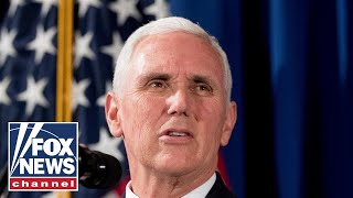Pence swears in Space Force General John Raymond