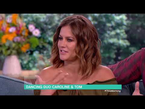 Caroline Flack and Tom Chambers Talk 'Crazy For You'  This Morning