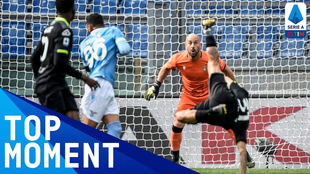 Daniele Verde Scores the GOAL OF THE SEASON!   Lazio 2-1 Spezia   Top Moment   Serie A TIM