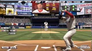 MLB 2K11 vs MLB The Show 11 Comparison