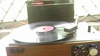 Aap hee ke geet music on Gramophone record