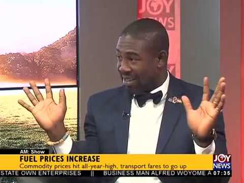 Fuel Prices Increase - AM Talk on JoyNews (20-9-17)
