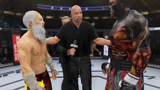 UFC 4 - Bruce Lee vs. Hell Hulk - Bloody Fight 🔥🐲
