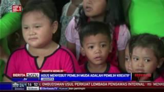 agus harimurti yudhoyono blusukan ke pasar klender
