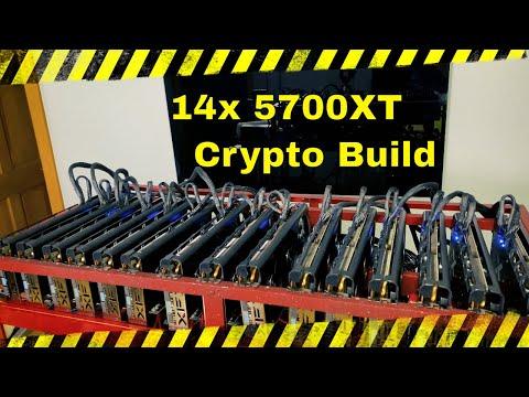 14x XFX 5700xt Mining Rig - How Did We Do It?