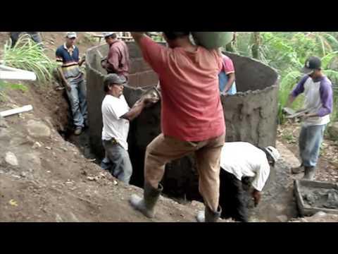 Finca El Zopilote.Ferro-Cement Water Tank