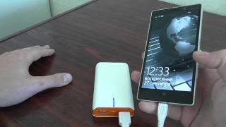 видео внешний аккумулятор для телефона