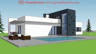 Villa Moraira. New Construction Ultra Modern Villa Designed By Grupo Katania To Build In Moraira