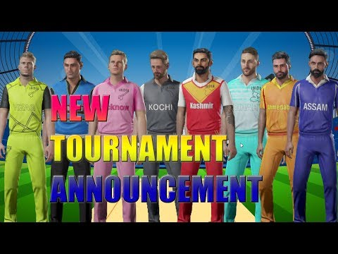 New Cricket Gaming Series - MYIPL   My Youtube Indian Premier League ,Team Squad Players Annoncement