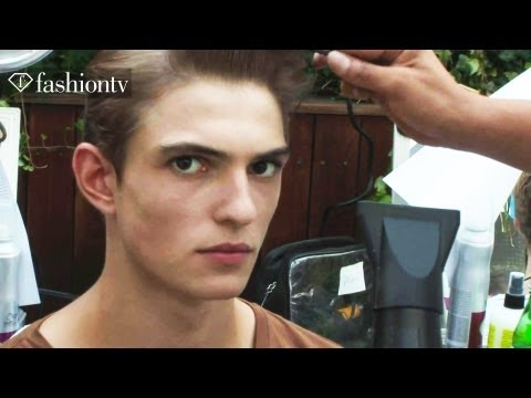 Tommy Hilfiger Men Spring/Summer 2013 Backstage | New York Fashion Week NYFW | FashionTV FMEN