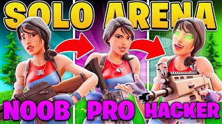 I Practiced 3 Levels of Solo Arena! (Fortnite Battle Royale)