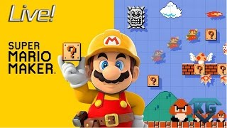 10K Subs Giveaway! Super Mario Maker! Come Hang with Kang!