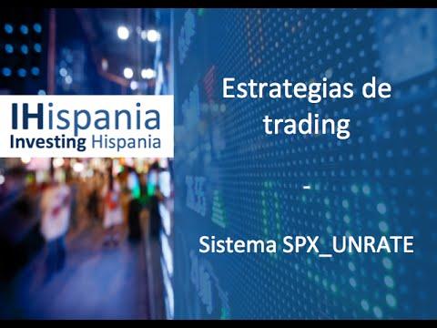 Webinar sistema trading SP500 UNRATE