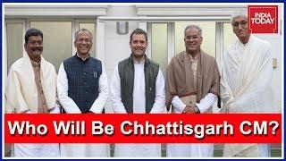 Congress To Announce CM For Chhattisgarh; Contenders Arrives At Rahul Gandhi's Residence