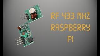 RF 433 MHZ (Raspberry Pi)