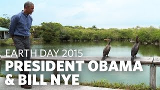 Download President Obama & Bill Nye Talk Earth Day in the Everglades Mp3 and Videos