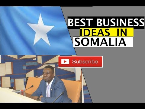 5 Best Small Business Ideas You Can Start In Somalia.