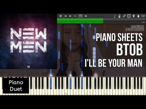 BTOB 비투비  - 기도 I'll Be Your Man (Sad Piano Ver.) [synthesia]