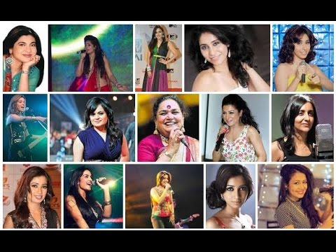 indian female singers list
