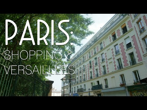 Paris Shopping & Versailles // Europe Travel Vlog #7 {hellorigby}