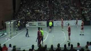 """TSV Hannover-BURGDORF vs. Friesenheim Auftiegsspiel """"das erste Tor"""""""