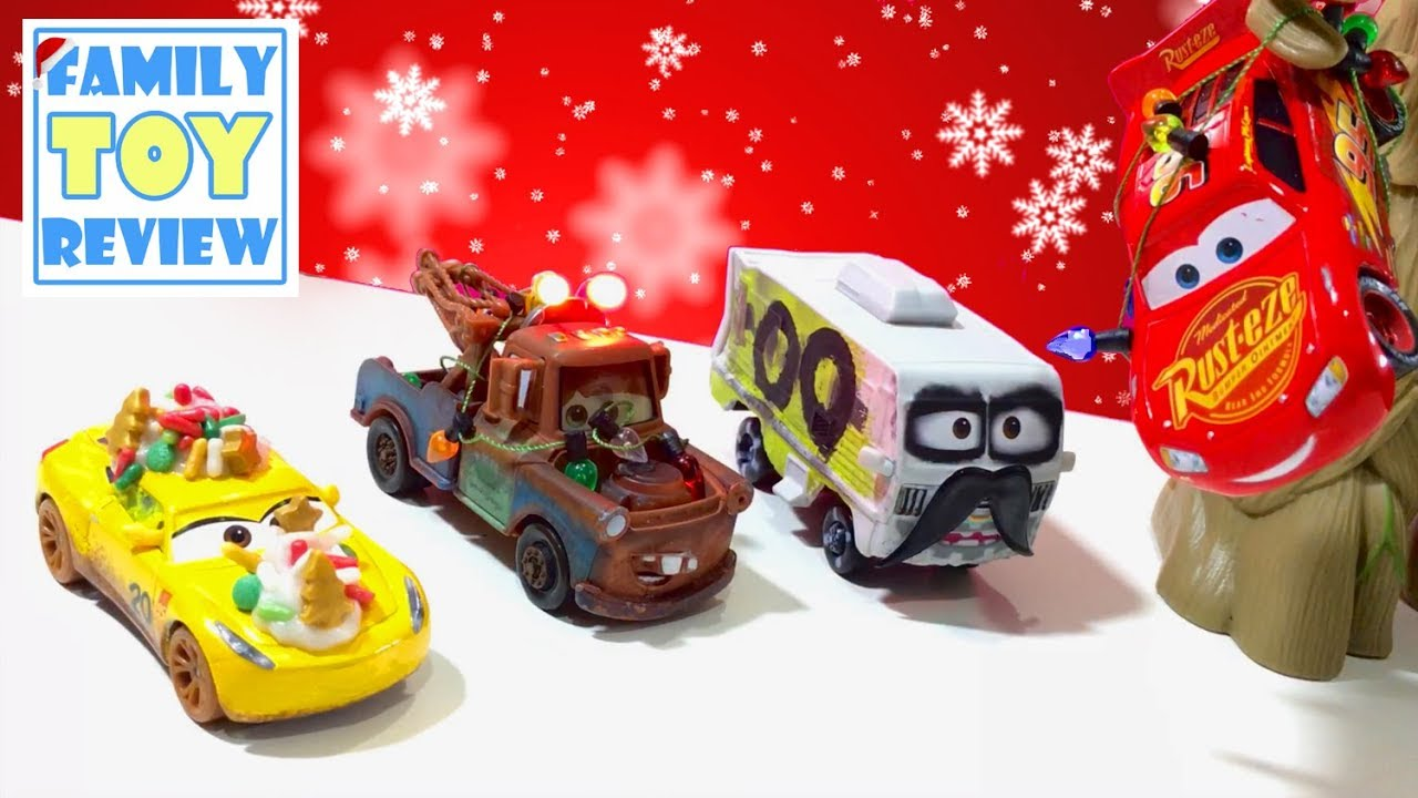 Christmas Toys Cars : Disney cars toys christmas crafts diy how to make