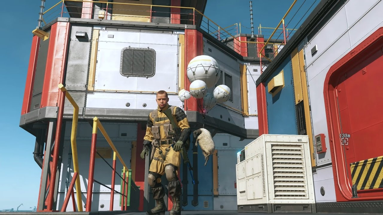 New Mother Base sideops - Infinite Heaven mod - MGSV