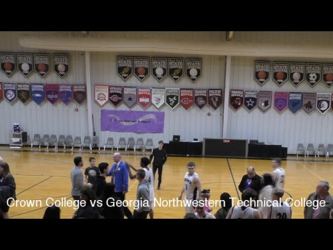 USCAA Basketball • Crown College vs Georgia Northwestern Technical College • January 11, 2019