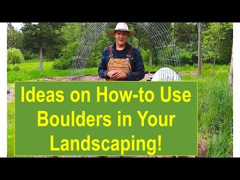 Ideas on How-to Use Boulders in Your Landscaping