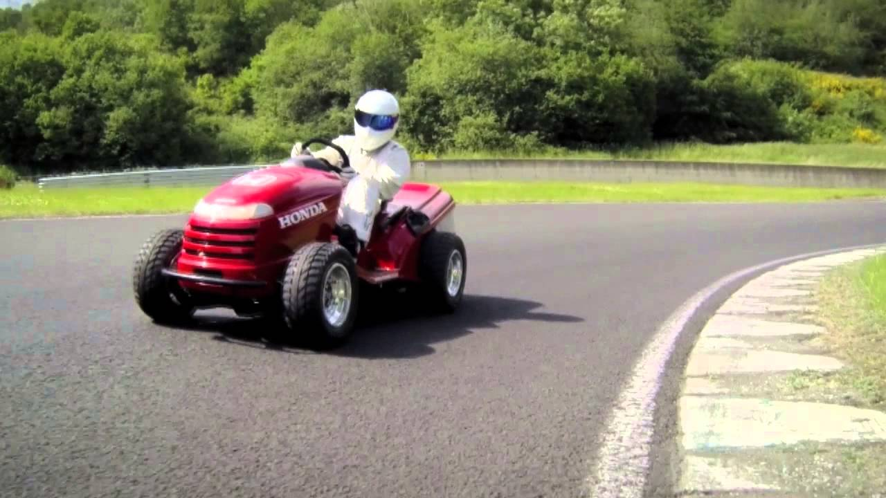 The Stigs 130mph Lawnmower