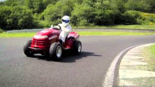 The Stig's 130mph lawnmower - Top Gear Magazine