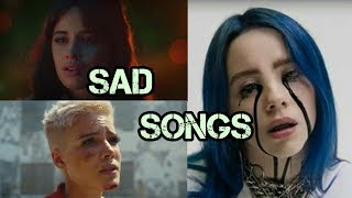 30 English Sad Songs That Will Make You Cry ! 2019