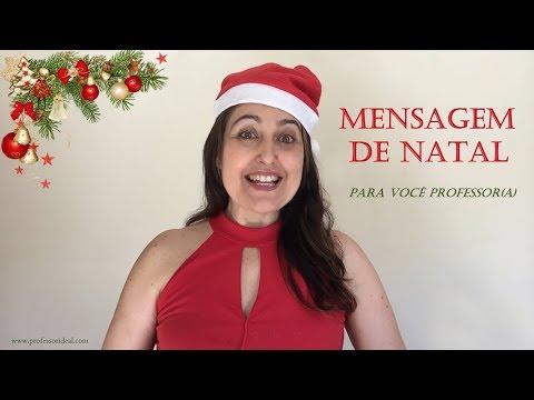 Mensagem De Natal Para Professores