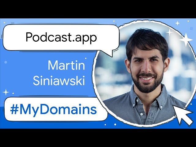 #MyDomain - The podcast.app