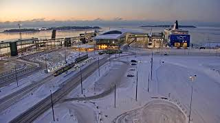 Preview of stream Port of Helsinki - West harbour - south cam