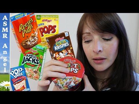 Vlog style cereal eating | ASMR Soft speaking | Muk-bang video
