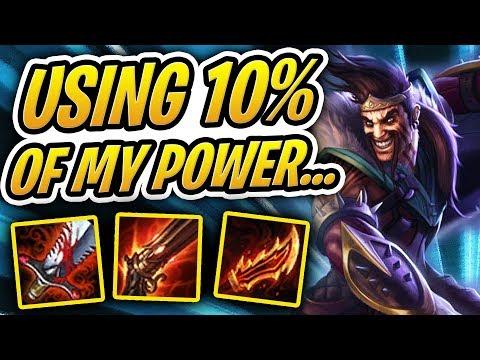 USING 10% OF MY TRUE BRAIN POWER!? | TFT | Teamfight Tactics | League of Legends Auto Chess