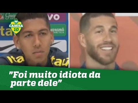 IDIOTA? OLHA O Que FIRMINO Falou De SERGIO RAMOS!