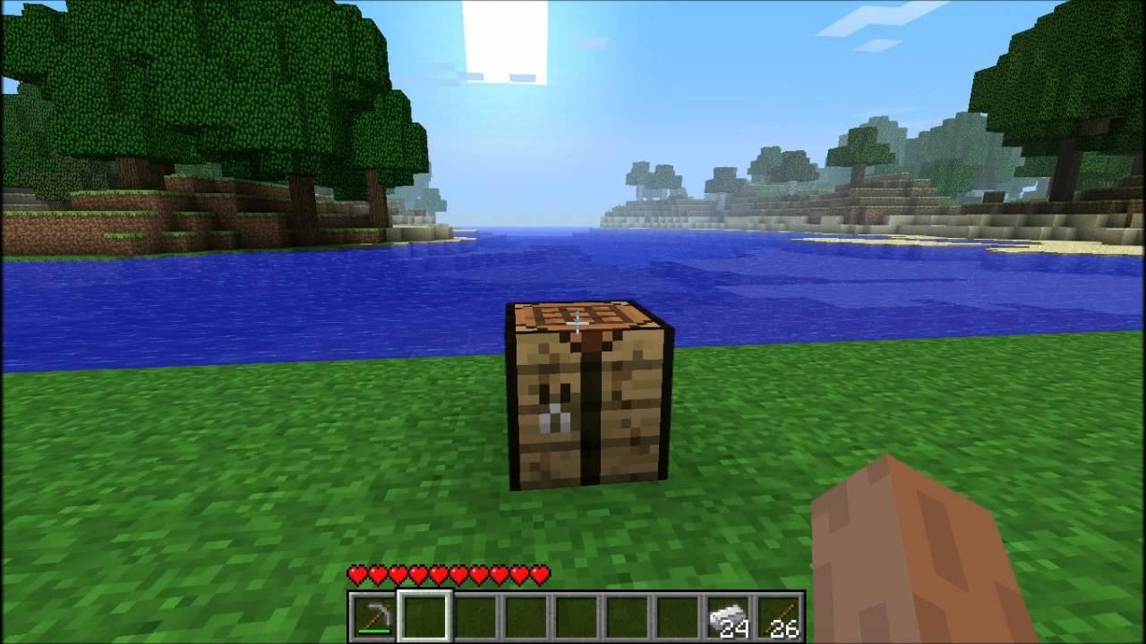 Iron Shovel Minecraft Minecraft - How To Mak...
