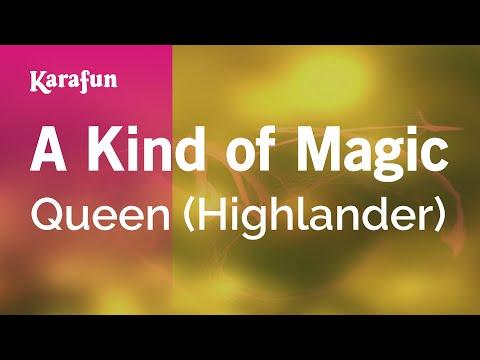 Karaoke A Kind of Magic - Queen *