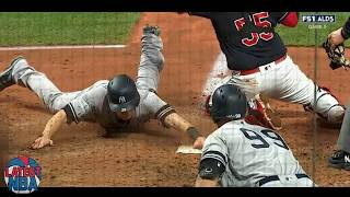Errors lead to 9th inning runs for the Yankees - Game 5 ALDS 2017 - Indians vs Yankees