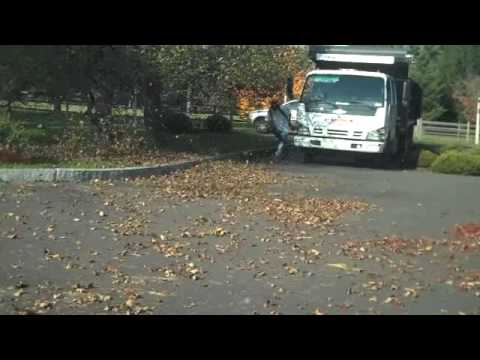 Yard Clean-up with Chris Orser Landscaping; We can remove your leaves!