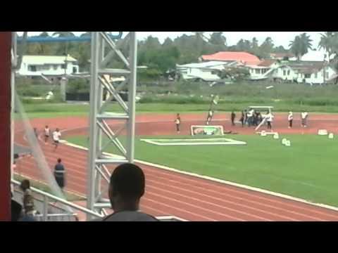 Deandrew 200m in guyana