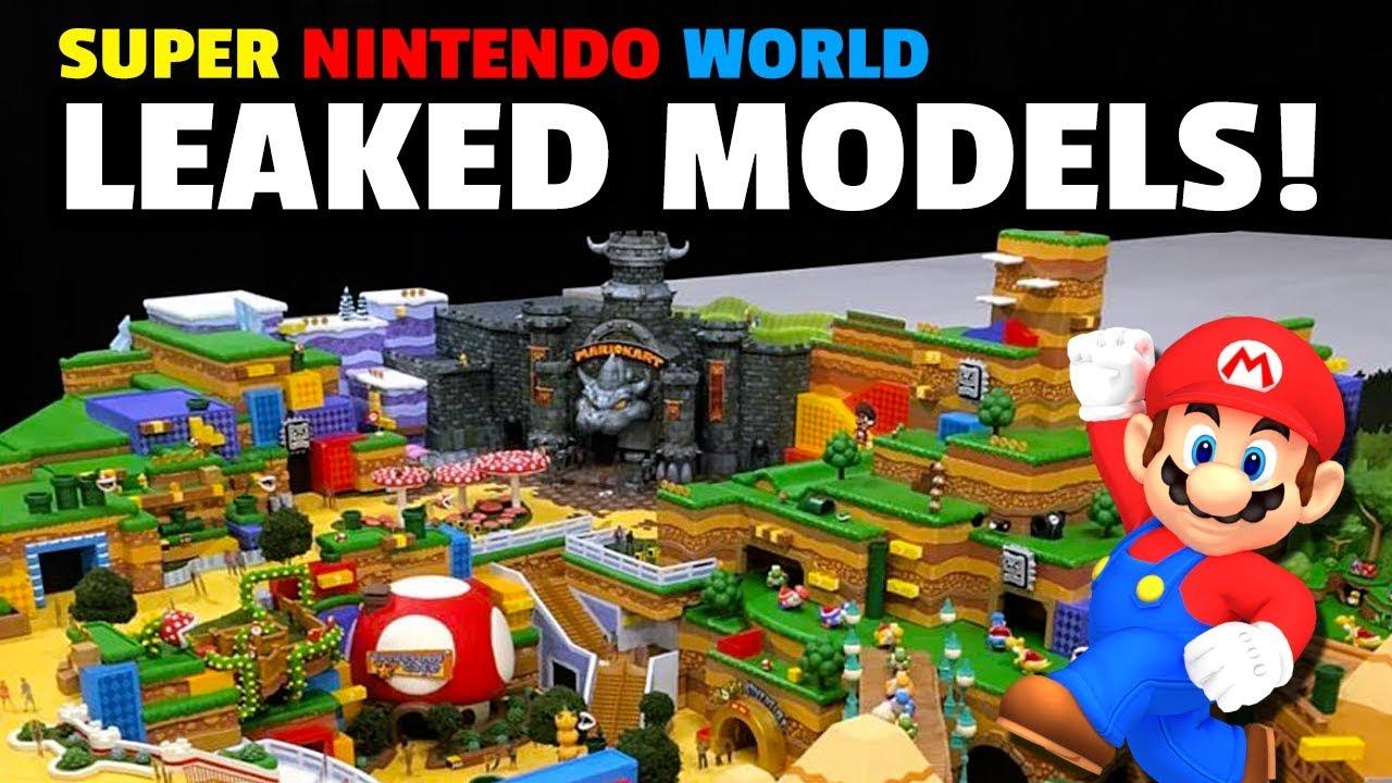 Leaked Super Nintendo World Model Pics New Info Youtube